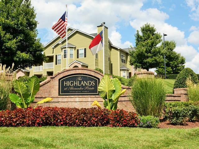 The Highlands at Alexander Pointe Apartments photo #1