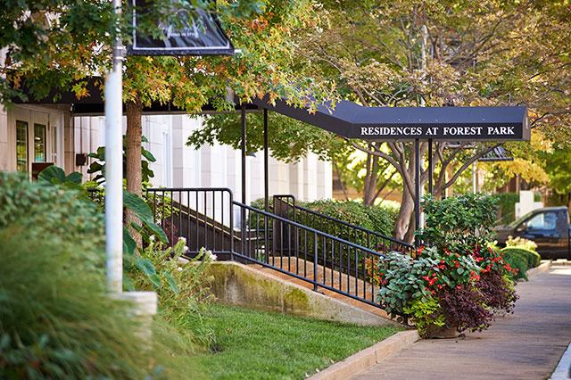The Residences At Forest Park Apartments St Louis Mo