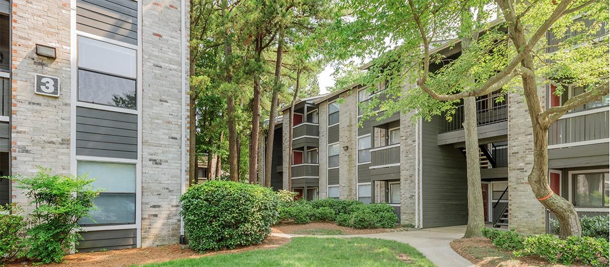The Township in Hampton Woods Apartments photo #1