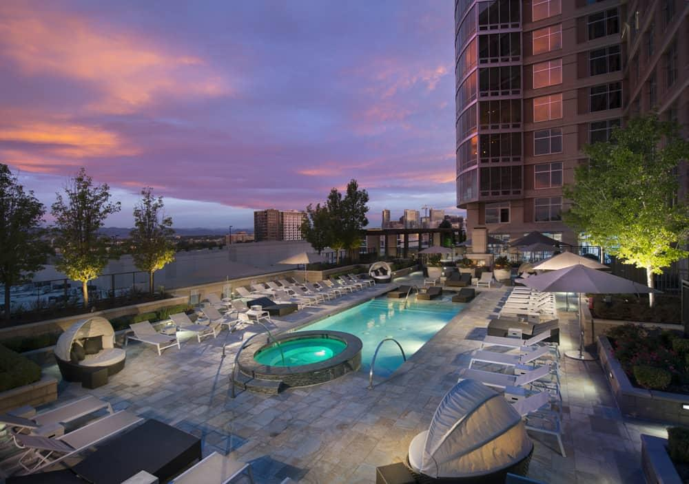 the rent at acoma apartments ranges from 2 226 for a one bedroom to a