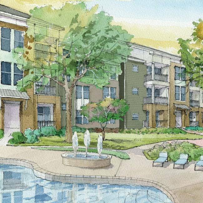 Watervue Apartments, Lake Charles LA