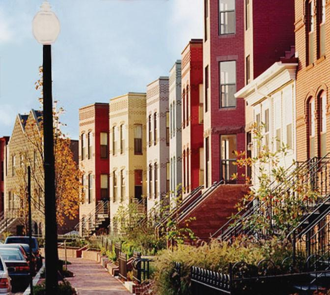 Apartments In Dc: Townhomes On Capitol Hill Apartments, Washington D.C. DC