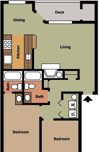 One BR Apartment in Vancouver. Parking Available! photo #1