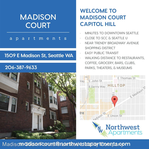 Madison Court Apartments Seattle