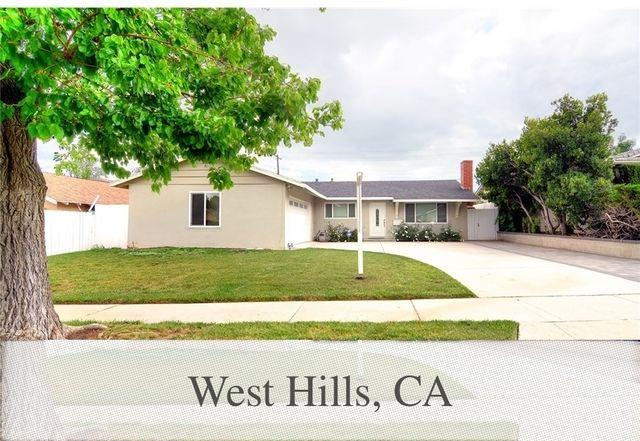 West Hills - This beautiful Three BR Two BA home has a remodeled kitchen.