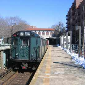 Photo of Morris Park Train