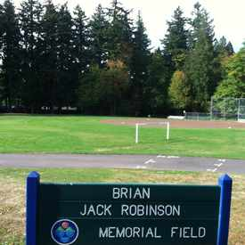Photo of Brian Jack Robinson Memorial Field