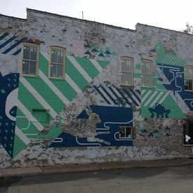 Photo of Mural On The Side Of One Meatball Place
