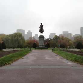 Photo of George Washington Statue