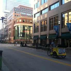 Photo of Pedicabs Roaming Street