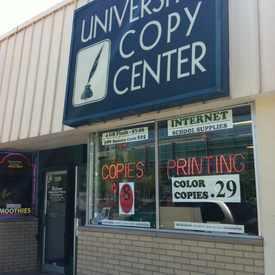 Photo of University Copy & Printing Center