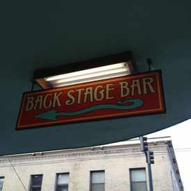 Photo of Back Stage Bar