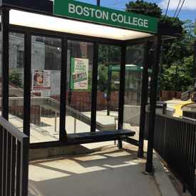 Photo of Boston College Train Stop