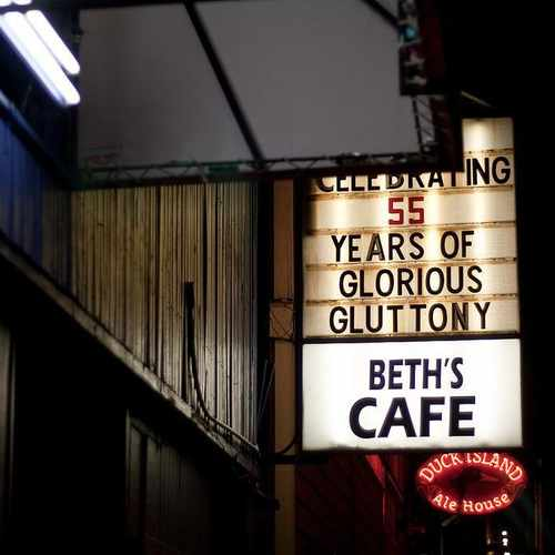 photo of Beth's Cafe Restaurant at 7311 Aurora Avenue North Seattle WA 98103