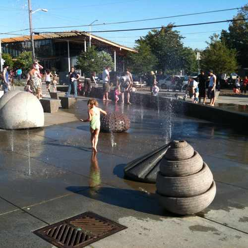photo of Ballard Commons Park at 5601 22nd Avenue Northwest Seattle WA 98107