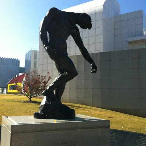 photo of The Shade By auguste Rodin at 33 16th Street Northeast Atlanta GA 30309