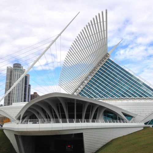 photo of Milwaukee Art Museum Research Library at 700 Art Museum Dr Milwaukee WI 53202