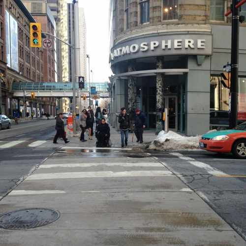 photo of Atmosphere Toronto Eaton Centre at 2 Queen Street West Toronto ON Canada
