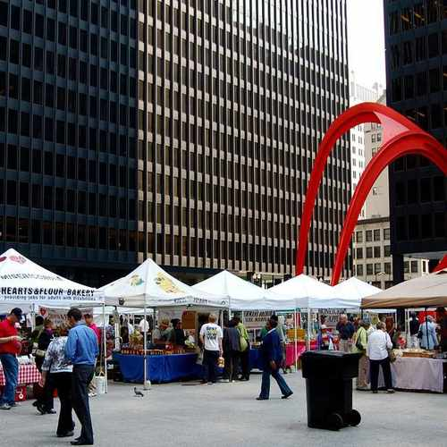 photo of Federal Plaza Farmers Market at 50 West Adams Street Chicago IL 60610