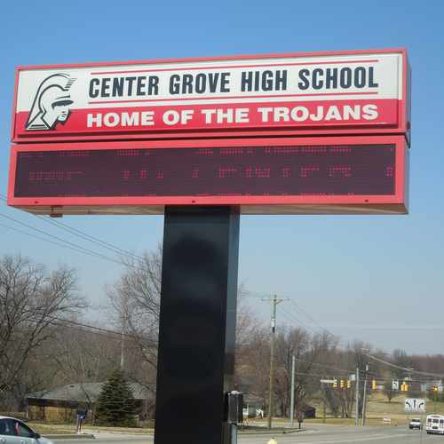 photo of Center Grove High School at 2717 South Morgantown Road Greenwood IN 46143