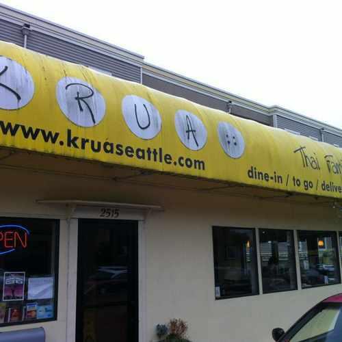 photo of Krua Thai in Ravenna at 2515 Northeast 55th Street Seattle WA 98105