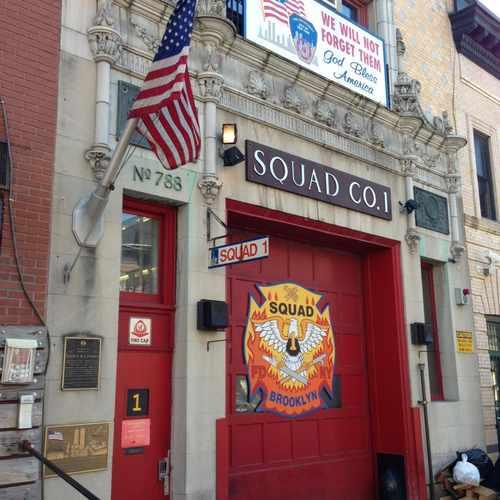 photo of Squad Co. 1 at 106 Berkeley Place Brooklyn NY 11217
