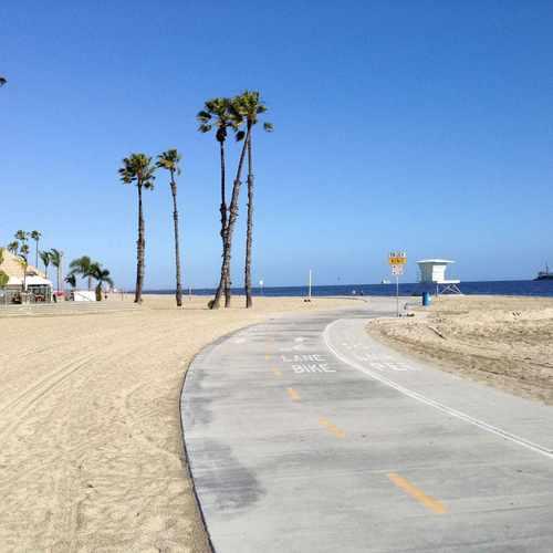 Photo Of Long Beach Bike Path At 1 Junipero Avenue Ca 90803