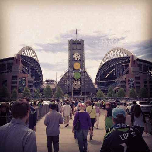 photo of CenturyLink Field at 800 Occidental Avenue South Seattle WA 98134
