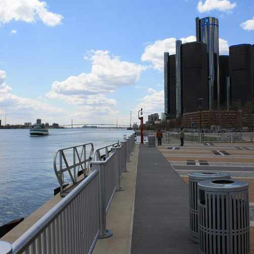 photo of RiverWalk at Detroit Riverwalk Detroit MI US
