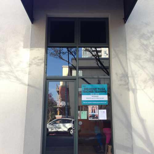 photo of the little yoga studio at 702 Ash Street San Diego CA 92101