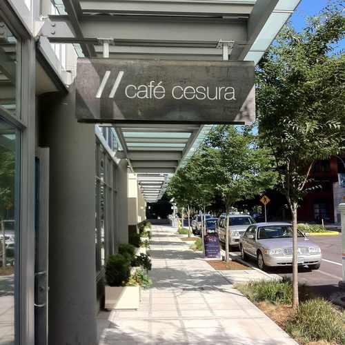 photo of Café Cesura at 900 108th Avenue Northeast Bellevue WA 98004