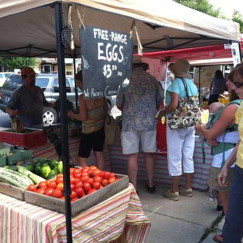 photo of Clintonville Farmers Market at 3519 High St Columbus OH 43214