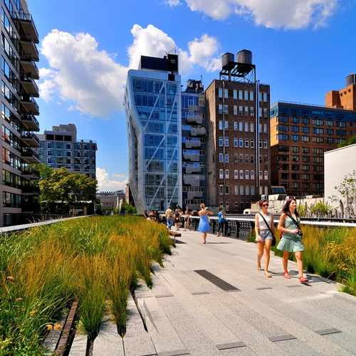 photo of The High Line at High Line elevated park New York NY 10011