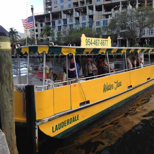 photo of Water Taxi at Northeast 32nd Avenue Fort Lauderdale FL US