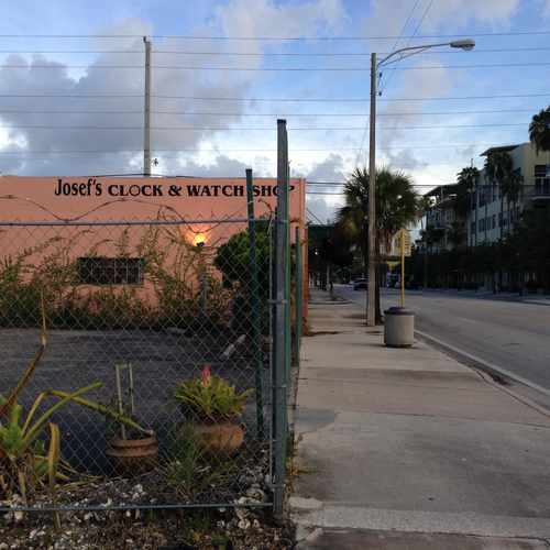 photo of Josef Clock & Watch Shop at 500 North Andrews Avenue Fort Lauderdale FL 33301