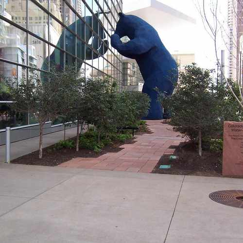 Colorado Convention Center With Lawrence Argent Sculpture: 700 14th Street, Denver CO