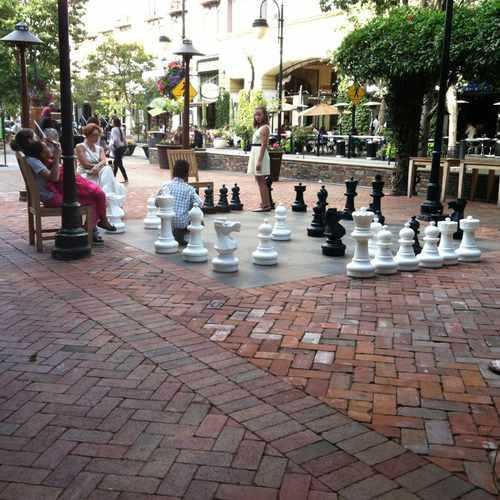 photo of Giant Chess at 367 Santana Row San Jose CA 95128