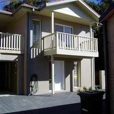 Rental info for Townhouse near Kendalls Beach in the Kiama area