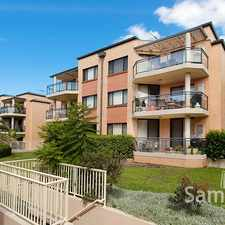 Rental info for CONTEMPORARY MIDDLE FLOOR NORTH FACING APARTMENT WITH NEW TIMBER FLOORS in the Caringbah area
