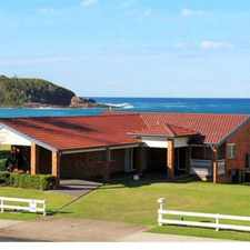 Rental info for Absolute Beachfront in the Mollymook Beach area