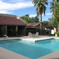 Rental info for $250 Move In Special. Utilities are included- *Use overage may be billed to tenant as additional rent. Newly Renovated....2 Sparkling Pools....2 Laundry Rooms....1 block from Downtown Mesa. Pennytreeapts.com in the Downtown area