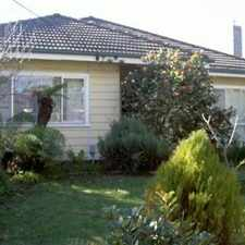 Rental info for THREE BEDROOM HOME IN SOUGHT AFTER LOCATION in the Melbourne area