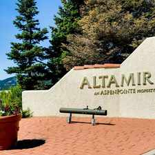 Rental info for Altamira Apartments in the Colorado Springs area