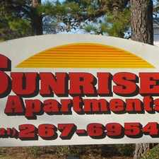 Rental info for Sunrise Apartments