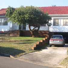 Rental info for Great House In Quiet Street in the Malabar area