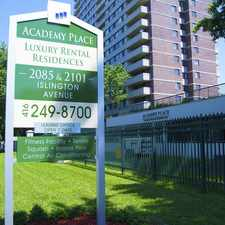 Rental info for Academy Place Apartments