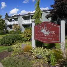 Rental info for Oak Creek Apartments