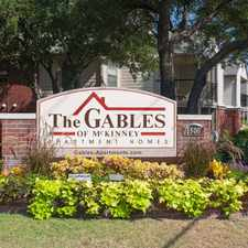 Rental info for The Gables of McKinney in the McKinney area