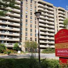 Rental info for Arlington Apartments in the Ottawa area