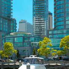 Rental info for Bayview at Coal Harbour in the Vancouver area